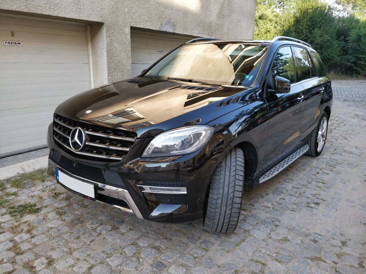 Mercedes ML под наем