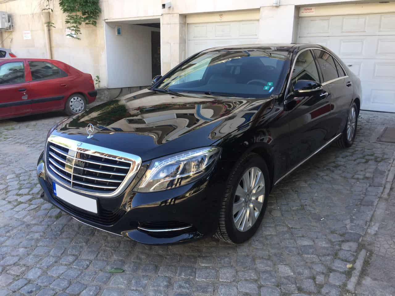 Mercedes S класа под наем