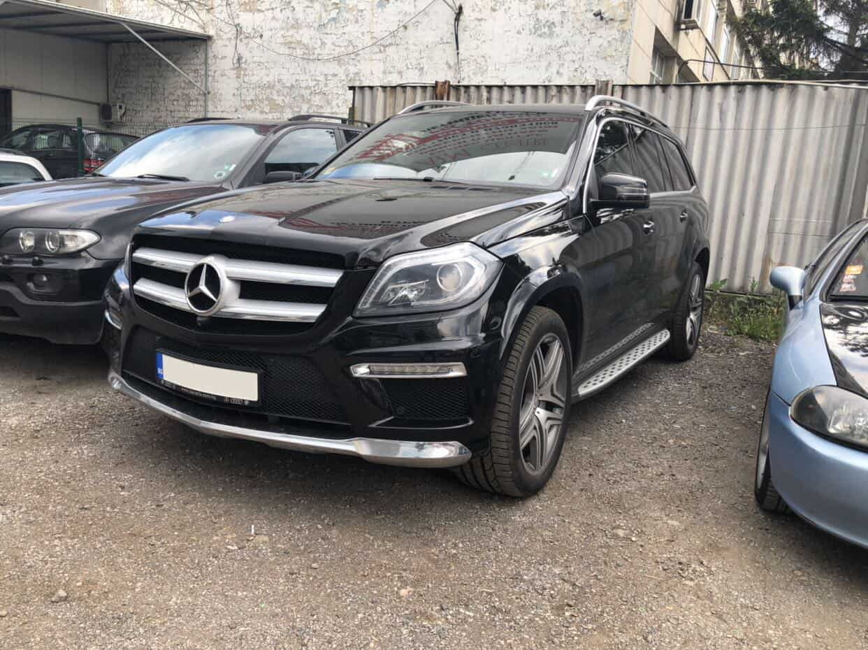Mercedes GL под наем